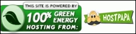 Powered by HostPapa 100% Green Energy